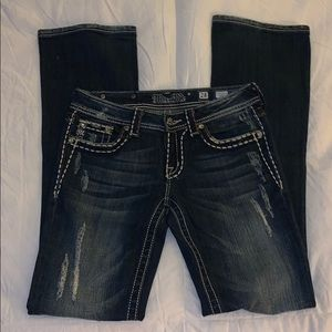 Miss Me stretch boot cut jeans